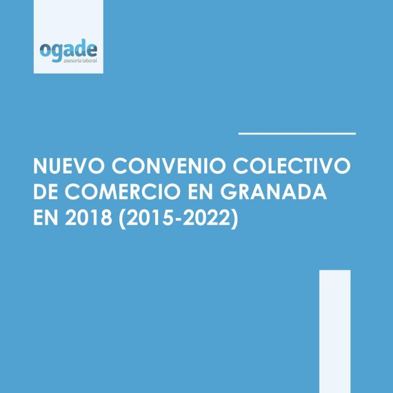 convenio comercio de granada 2018