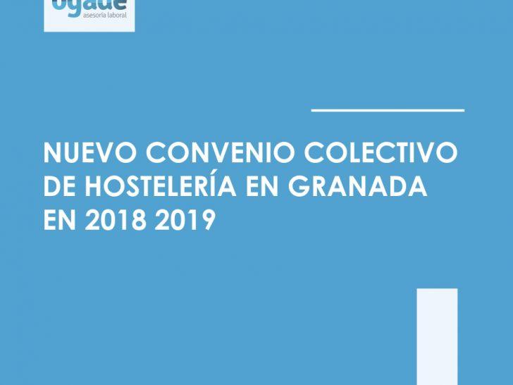 convenio hostelería de granada 2018