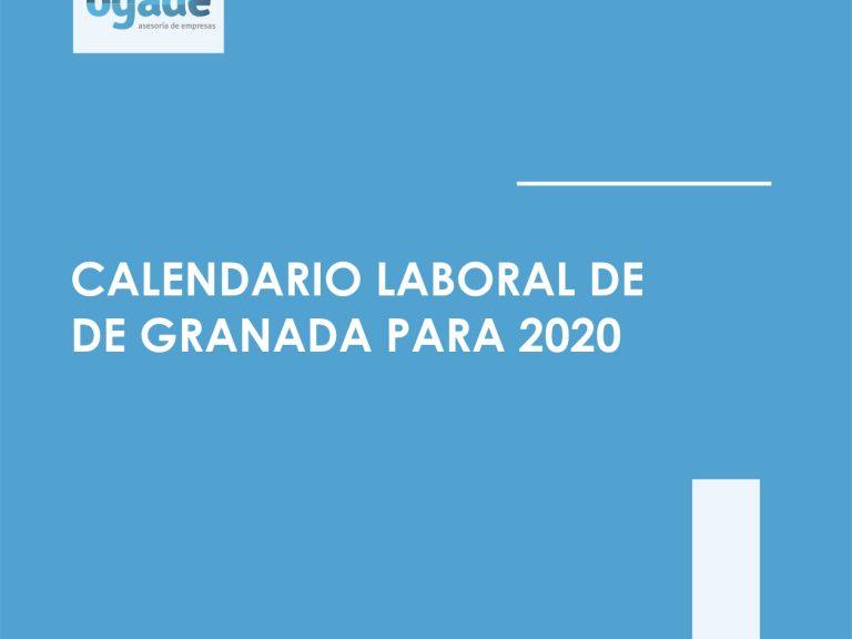 calendario laboral granada 2020
