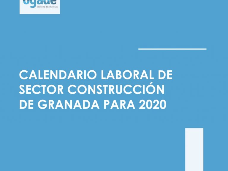 calendario laboral construccion granada 2020