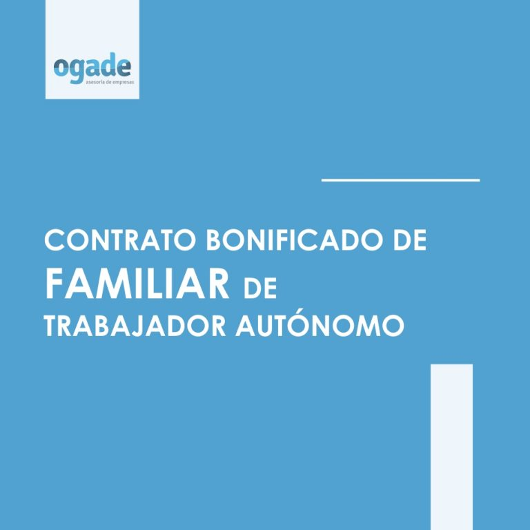contrato bonificado familiar autonomo