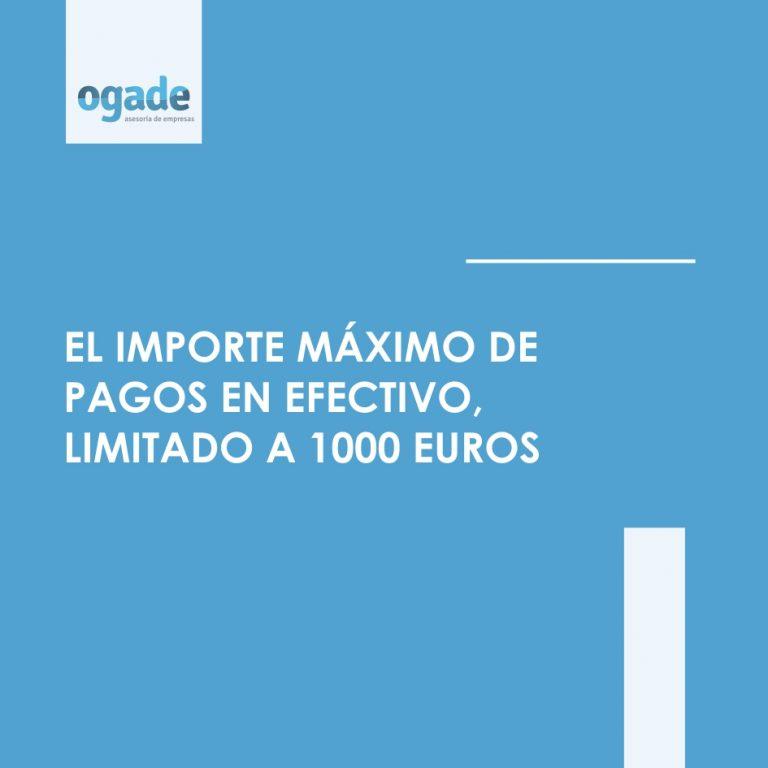 pago efectivo 1000 euros